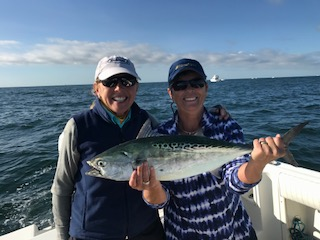 Pretty good for a couple of girls rum runner saltwater for Ct saltwater fishing report